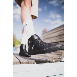 Men's High Sneakers Big Star Black Y174020