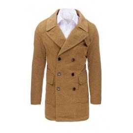 Płaszcz męski zimowy kamelowy CX0362