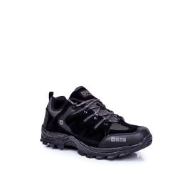 Men's Trekker Shoes Big Star Outdoor Black GG174282