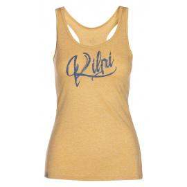 Women's functional tank top Ariana-w yellow - Kilpi