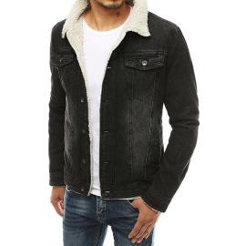 Kurtka męska jeansowa czarna TX3349
