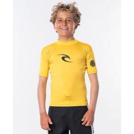 Lykra Rip Curl JNR.CORPO S/SL UV TEE  Yellow