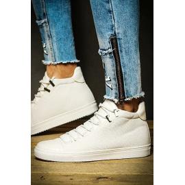 Sneakersy męskie białe ZX0125