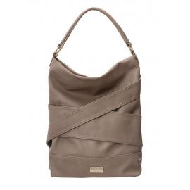 BADURA Beżowa duża torba