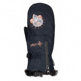 Women's thumb gloves Debby-w dark blue - Kilpi